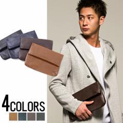 SB select シルバーバレットセレクト PUレザー ミニ クラッチバッグ 全4色 メンズ バッグ 鞄 小物 プレゼント ユニセックス ビター系