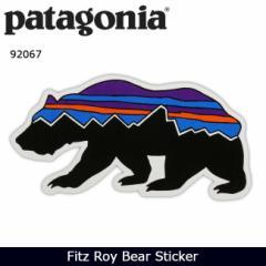 パタゴニア Patagonia Fitz Roy Bear Sticker 92067 【雑貨】 ステッカー シール 日本正規品