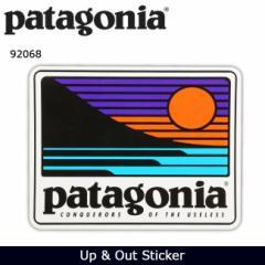パタゴニア Patagonia Up & Out Sticker 92068 【雑貨】 ステッカー シール 日本正規品