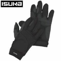 ISUKA イスカ ウェザーテック トレッキンググローブ手袋 サイズ L 2303 01 ブラック