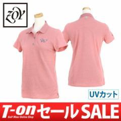 【30%OFFセール】2017 秋冬 ゾーイ ZOY 半袖ポロシャツ ゴルフウェア レディース