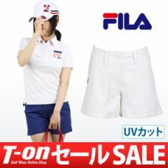 【30%OFFセール】2017 春夏 フィラ ゴルフ FILA GOLF ショートパンツ ゴルフウェア レディース