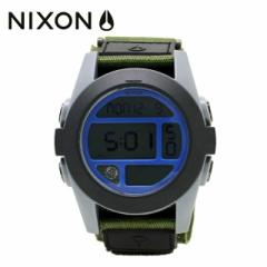 【国内正規品】 ニクソン NIXON 腕時計 NA4891376-00 NIXON BAJA: SURPLUS/GRAY/BLUE