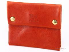 イルビゾンテ 小銭入れ/コインケース IL BISONTE C0933 PO 730 ブラウン レザー財布