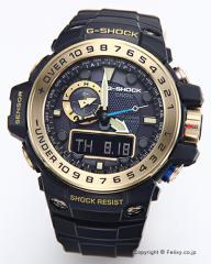 カシオ 腕時計 G-SHOCK (ジーショック) GWN-1000GB-1A (海外モデル) 電波ソーラー