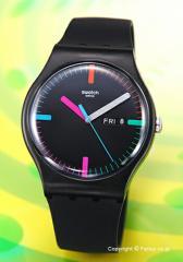 スウォッチ 腕時計 SWATCH NEW GENT THE INDEXTER SUOB719