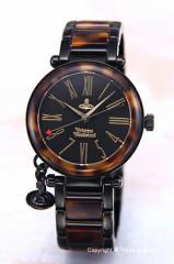 ヴィヴィアンウエストウッド 腕時計 オーブ ブラ...