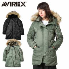 AVIREX アビレックス 6252053 レディース COMMERCIAL N-3Bフライトジャケット《WIP》レディース アウター ミリタリー ブルゾン 冬