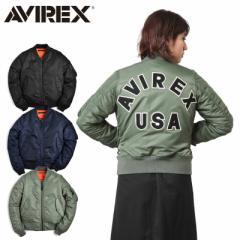 AVIREX アビレックス 6262078 レディース COMMERCIAL LOGO MA-1フライトジャケット