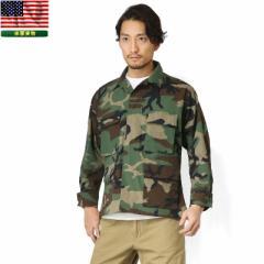 実物 新品 米軍 BDU WOODLAND CAMO ジャケット【クーポン対象外】【Px】【特】