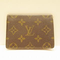 ルイヴィトン Louis Vuitton ポルト2カルトヴェルティカル パスケース カードケース モノグラム 定期入れ M60533 小物【中古】