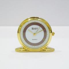 時計 Rosier 置き時計 クオーツ SS ケース付き【中古】