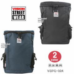 ヴィジョンストリートウェア バッグ リュック VSPC-504 スクエア型 多機能バッグ VISION STREET WEAR ビジョン デイパック ag-875300