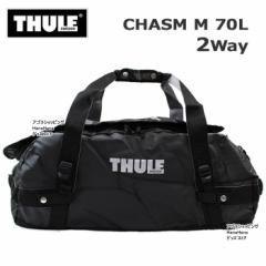 スーリー THULE バッグ リュック Chasm M 70L  Black 2Way ダッフルバック バックパック トラベル ボストン ジム ag-907500