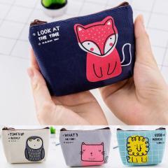 コインケース 小銭入れ 小物入れ 財布 ポーチ ファスナー式 レディース チャック ジッパー 小さい コンパ