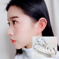 【ゲリラSALE】イヤーカフス 片耳用 単品 レディース メンズ アクセサリー ラインストーン キラキラ シンプル 可愛い かわ