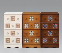 45-4チェスト 選べる3色 国産 アンティーク家具チェスト♪デザインチェスト タンス 箪笥 収納