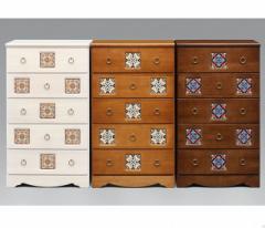 60-5チェスト 選べる3色 国産 アンティーク家具チェスト♪デザインチェスト タンス 箪笥 収納