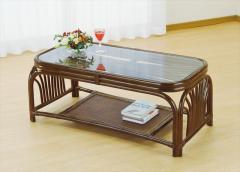 テーブル T-630B ブラウン 籐 籐家具 テーブル センターテーブル リビングテーブル アジアンリビ