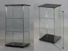 【代引不可】 コレクションケース ダークブラウン リビング 収納 家具 ケース コレクション ボ