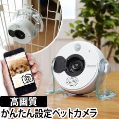 ペットカメラ 防犯カメラ 監視カメラ ネットワークカメラ ペット 見守りカメラ Qwatch クウォッチ TS-WRLA ワイヤレス Wi-Fi 高画質 無線