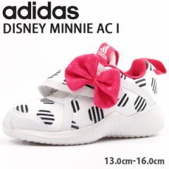 アディダス スニーカー 子供 キッズ ベビー ローカット かわいい ディズニー ミニー adidas DISNEY MINNIE AC I D96918【送料無料】