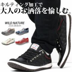 即納 あす着 送料無料 スニーカー ローカット メンズ 靴 WILD NATURE 2790
