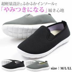 【送料無料】 スニーカー レディース 女性 フットフォーム ローカット スリッポン 靴 形状記憶 軽量 軽い FootForm 302