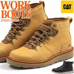 ブーツ メンズ 靴 男性 ミッドカット ハイカット ワーク 靴 キャタピラー Caterpillar P722770 P722771 天然皮革 個性的【送料無料】