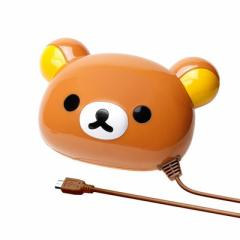 ☆ リラックマ micro USB 専用 乾電池交換式ダイカット充電器 リラックマ YY00501