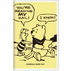 ディズニー 【2018年10月始まり】 2019年 スケジュール帳 手帳 月間A5スリムカラー DC プー  S2942976