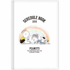 スヌーピー 【2018年10月始まり】 2019年 スケジュール帳 手帳 月間L ホワイト S2943573