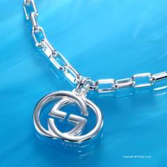 グッチ アクセサリー GUCCI ブレスレット Interlocking G 295711 J8400 8106 19cm
