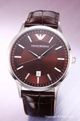 エンポリオアルマーニ 腕時計 メンズ EMPORIO ARMANI Classic Collection (クラシック コレクション) ブラウン AR2413