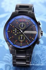 アルマーニ エクスチェンジ Armani Exchange 腕時計 メンズ オールブラック(マルチカラー) AX2191