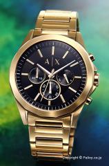 アルマーニ エクスチェンジ Armani Exchange 腕時計 メンズ ブラック×ゴールド AX2611