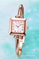 グッチ 腕時計 GUCCI 1900-Series (1900シリーズ)  ホワイトパール バングルウォッチ レディース YA019520