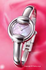 GUCCI グッチ 腕時計 レディース 1400シリーズ ピンクパール(グッチシマダイアルバージョン) バングル YA014513