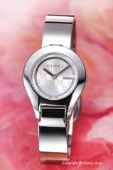 GUCCI グッチ 腕時計 レディース 6700シリーズ シルバー(Gミラー) バングル YA067509