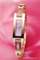 GUCCI グッチ 腕時計 レディース 3900シリーズ ローズゴールド×ピンクパール(GGパターン) YA039549