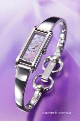 GUCCI グッチ 腕時計 レディース G-ライン バングル ピンクパール(グッチシマダイアルバージョン) YA109530