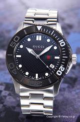 GUCCI グッチ メンズ腕時計 クラシックスポーツ ブラック(ブラックベゼル) YA126249