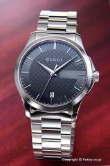 GUCCI グッチ 腕時計 メンズ YA126441 G-タイムレス コレクション アンスラサイト