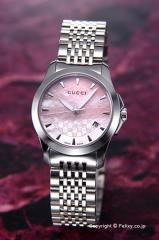 GUCCI グッチ 腕時計 レディース YA126532 G-タイムレス コレクション ピンクパール