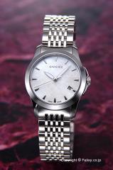 GUCCI グッチ 腕時計 レディース YA126533 G-タイムレス コレクション ホワイトパール