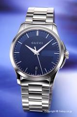 グッチ 腕時計 メンズ GUCCI YA126440 G-タイムレス ブルー