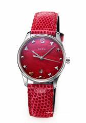 グッチ 時計 GUCCI レディース 腕時計 G-Timeless Collection Signature スモールバージョン YA126584