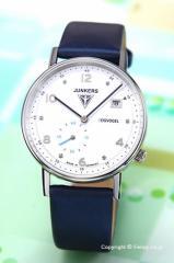 ユンカース JUNKERS 腕時計 レディース Eisvogel F13 Lady ホワイト/ブルーサテン 6731-3QZ
