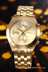マークバイマークジェイコブス MARC BY MARCJACOBS レディース腕時計 MBM3393 ピーカー クロノグラフ オールゴールド