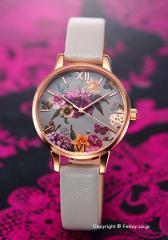 オリビアバートン OLIVIA BURTON 腕時計 DARK BOUQUET GREY & ROSE GOLD OB16EG80